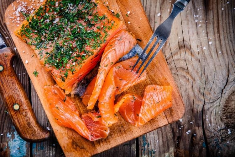 Deux recettes avec du saumon fumé