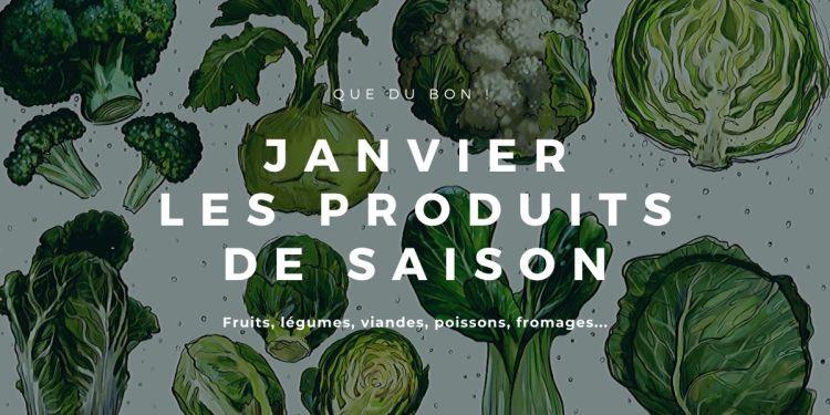 les produits de saison du mois de janvier