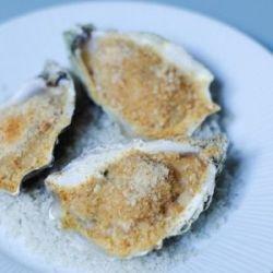 huîtres gratinées