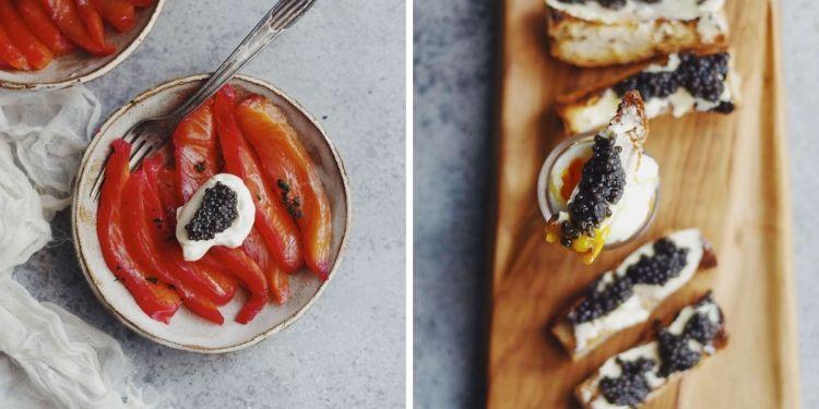 recettes au caviar