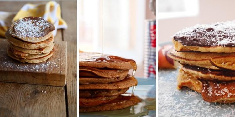 recette pancakes à la farine de drêche