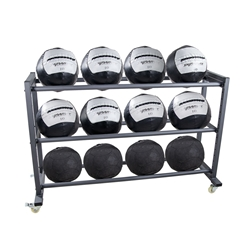 3 Tier Mega Medicine Ball Rack