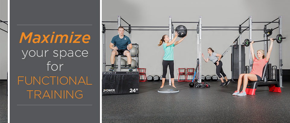 create a new revenue room with functional training – power systems