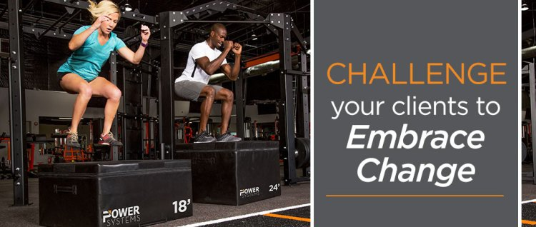 Change your fitness routine