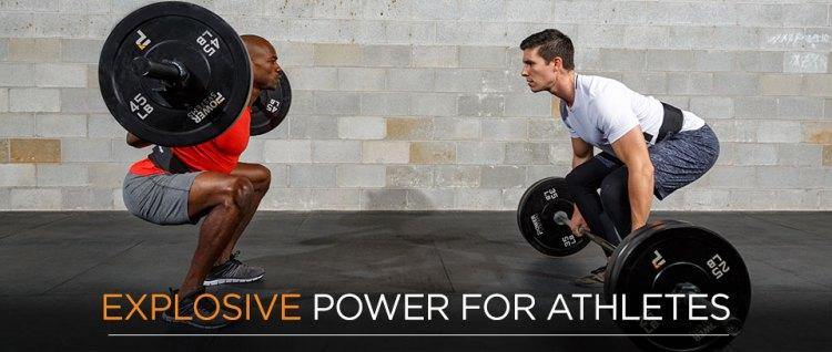 Explosive athletic Power