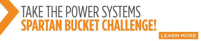 Take the Spartan Bucket Challenge - Power Systems