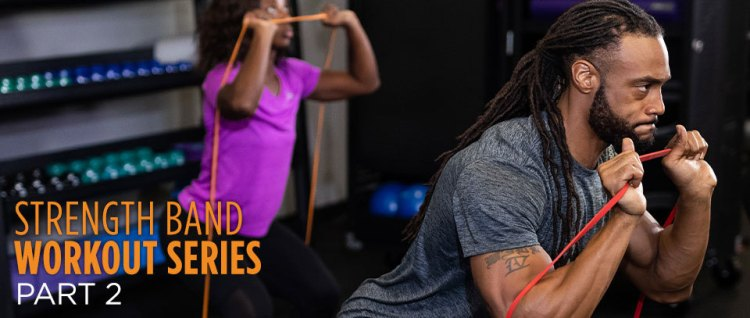 Strength band workout series part 2 - Power Systems