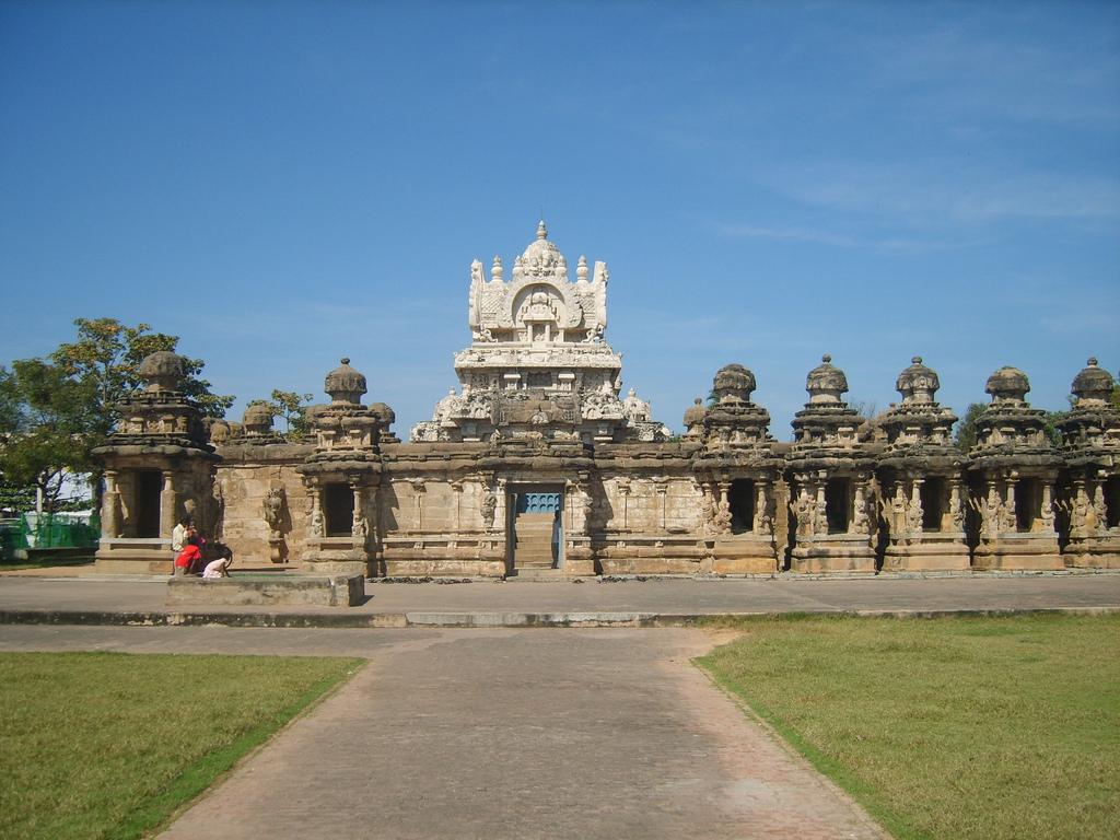 Kailasanathar Temple Kanchipuram, Tamil Nadu Flickr@Senthil Kumar