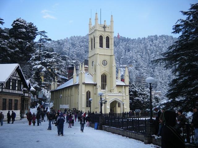 Shimla-honeymoon-destinations-in-India
