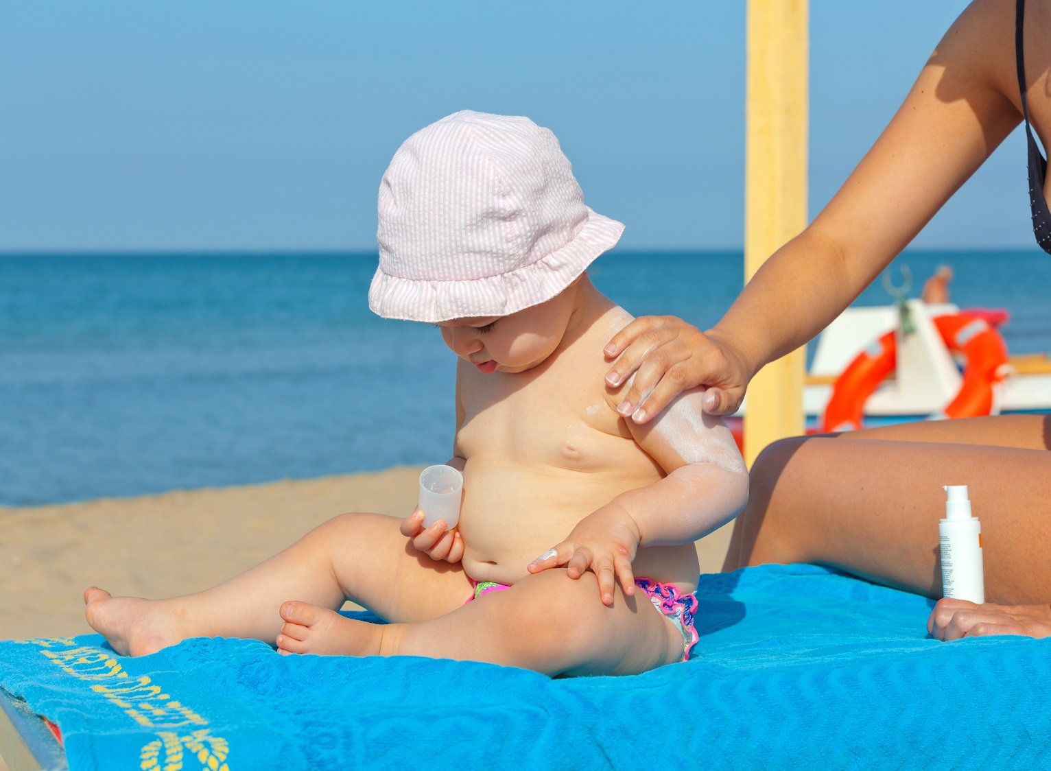 Keeping Your Baby Sun-Safe