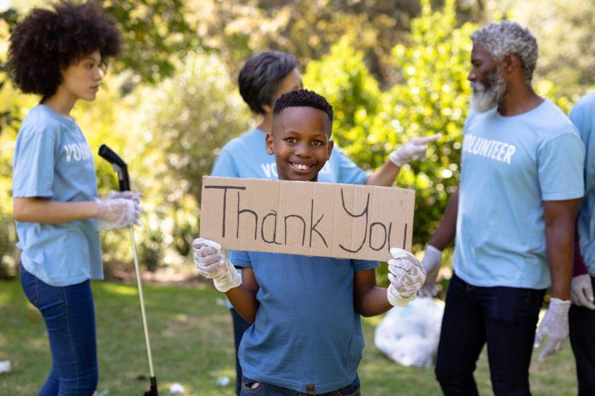 Instilling an attitude of gratitude