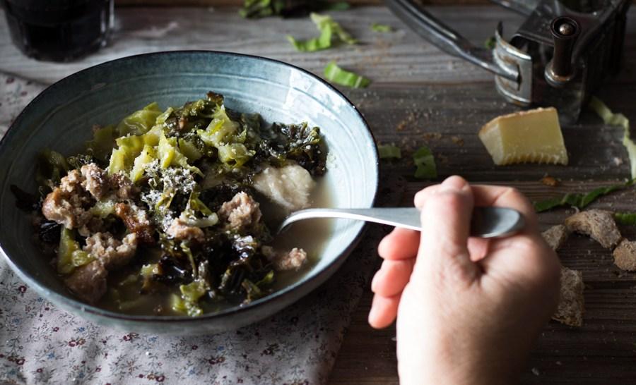 zuppa di verza covata