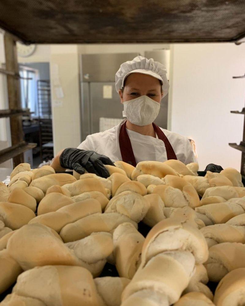 Pane biscottato della Panetteria Zenere a Caldogno