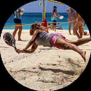 beach tennis PUC