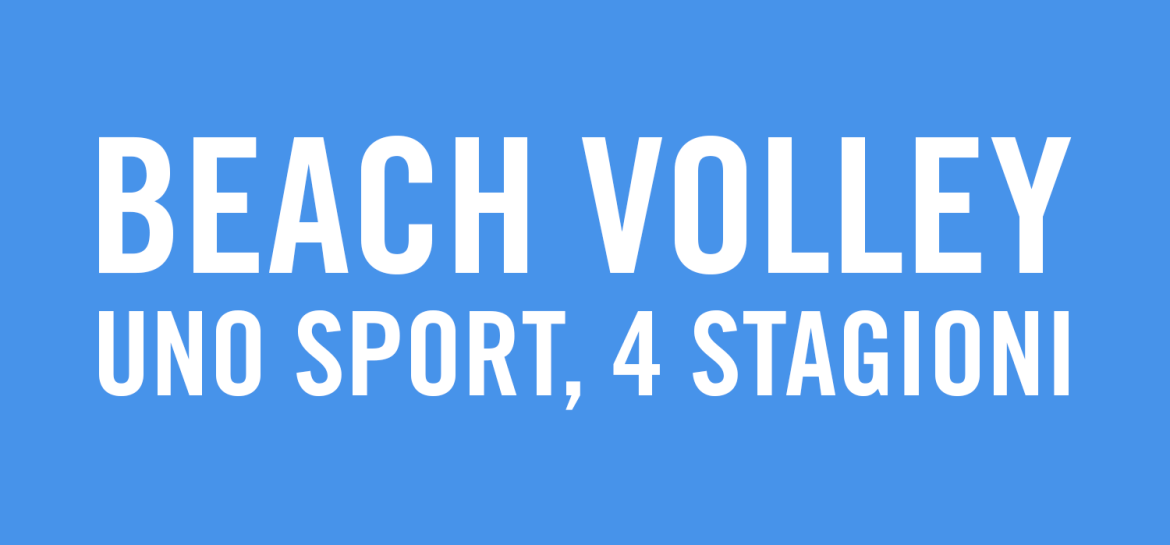 Beach Volley 1 Sport 4 Stagioni