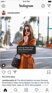 Shoppable Instagram Creators