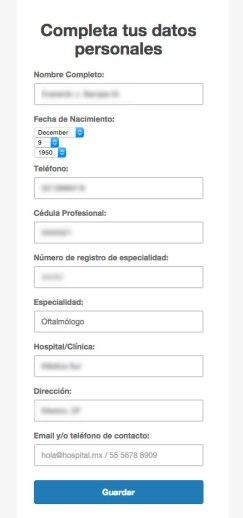 Completa Datos Personales