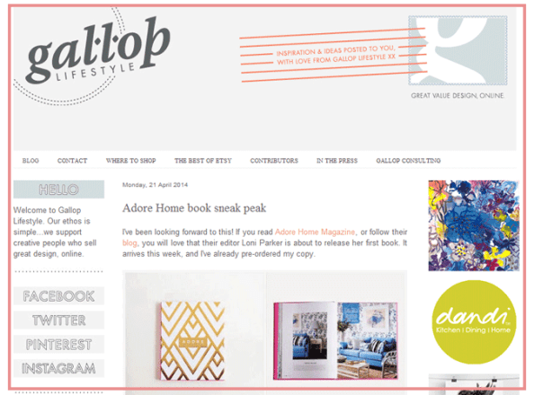 Gallop Lifestyle Blog | Press Loft Blog