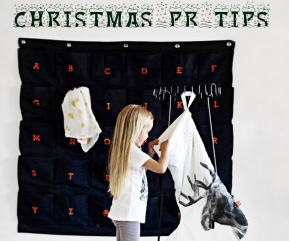 Christmas PR Tips