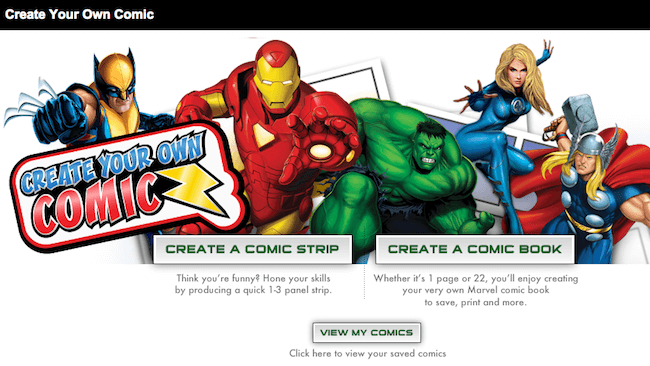 Make you own digital comics app