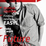 Magazine Templates Free from PressPad - Masculine