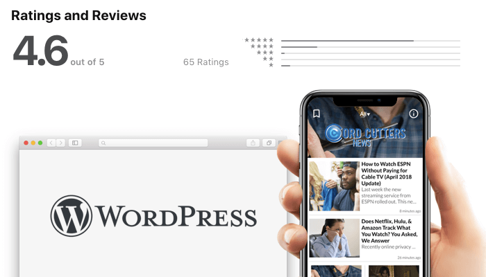 Mobile Tools for WordPress Publishers