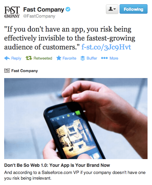 mobile app role in building brand awareness