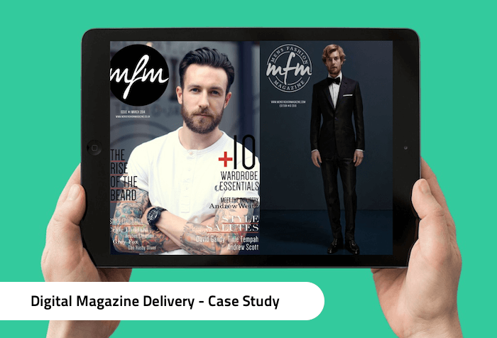 Efficient Magazine Delivery for Digital Publishers -- Case Study