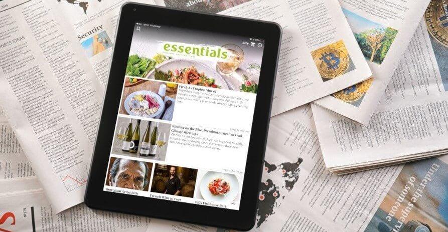 how to design a digital magazine