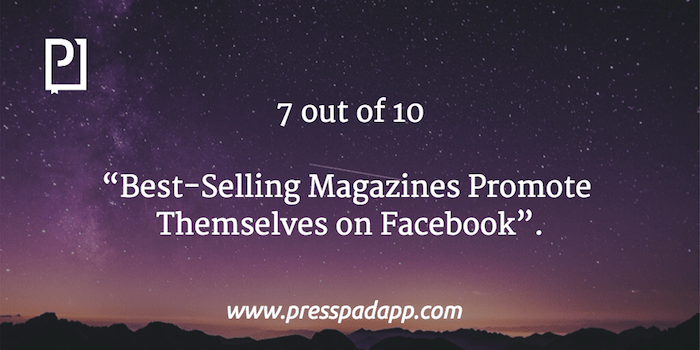 magazines promote on facebook