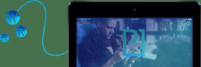 WordPress News app on iPad