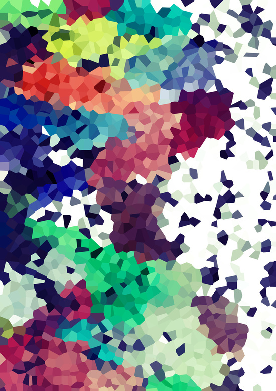 Tomorrowland Abstract Poster PrintKEG Blog