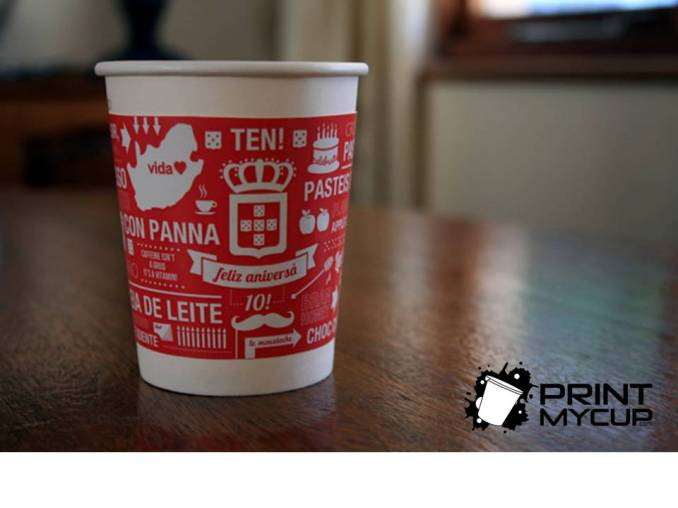 Great Coffee Cup Design www.printmycup.com custom printed coffee cups