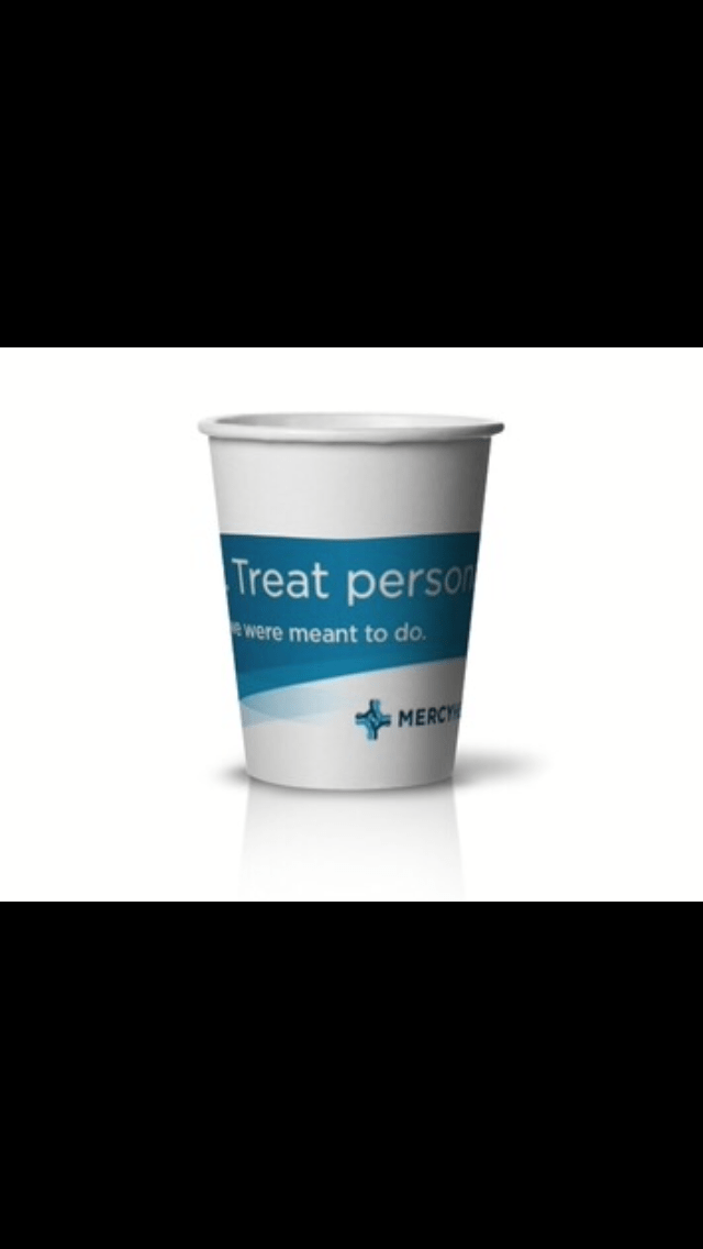 Mercy Health Partners #healthcaremarketing www.custompapercup.com