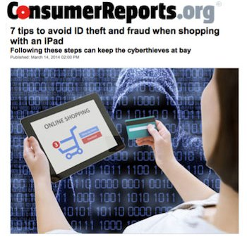 Avoid Identity Theft When Shopping with an iPad: Consumer