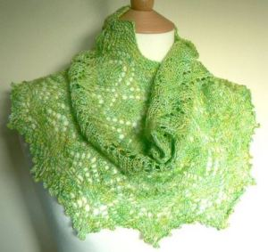 Watercolours and Lace - Cowl Kit