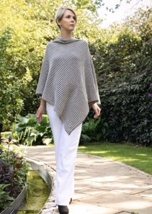 Tumble Poncho - MillieMoo Knitwear