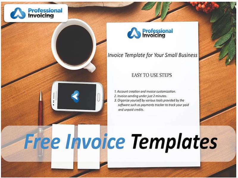 Free Invoice Template For Your Small Business Professional Invoicing - Electronic invoicing for small business