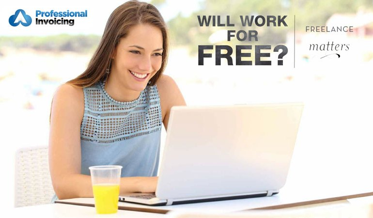 Should Freelancers Ever Work for Free?