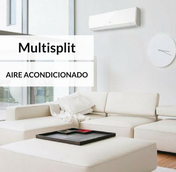 aire acondicionado multisplit