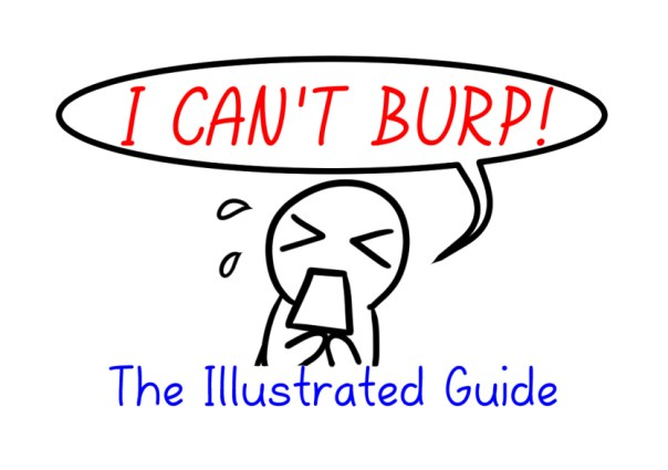 Can't burp title page