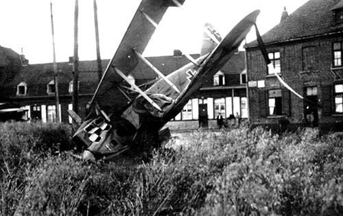 Un appareil allemand a été abattu.