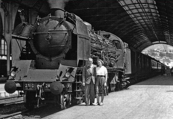 Transport ferroviaire - Locomotive
