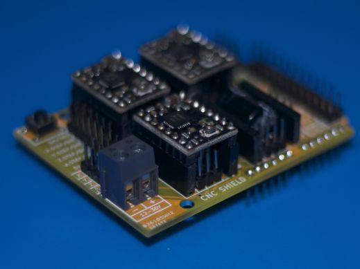 Arduino cnc shield v yellow protoneer nz