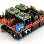 Arduino CNC Shield – 100% GRBL Compatable
