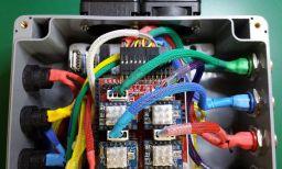 Arduino CNC Shield Raspberry Pi Enclosure- Nice cabling