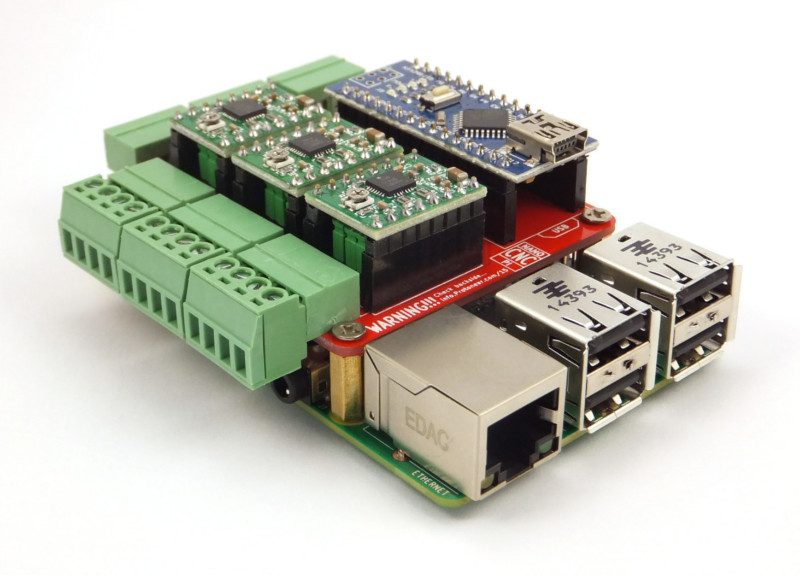 Raspberry Pi Cnc Board Hat Protoneer Co Nz