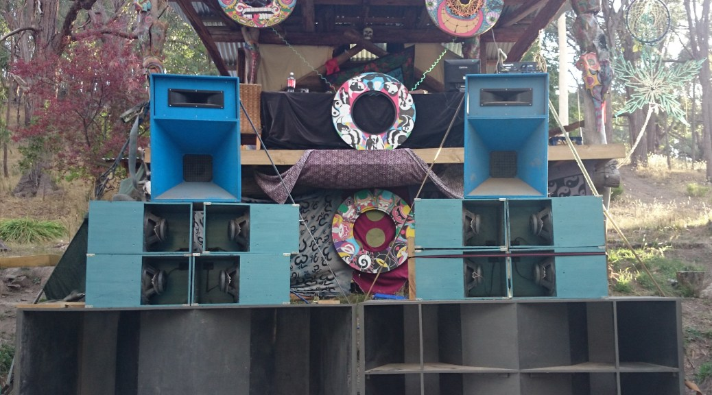 Cabin main stage with full stack