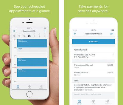 Square Appointments Screenshot