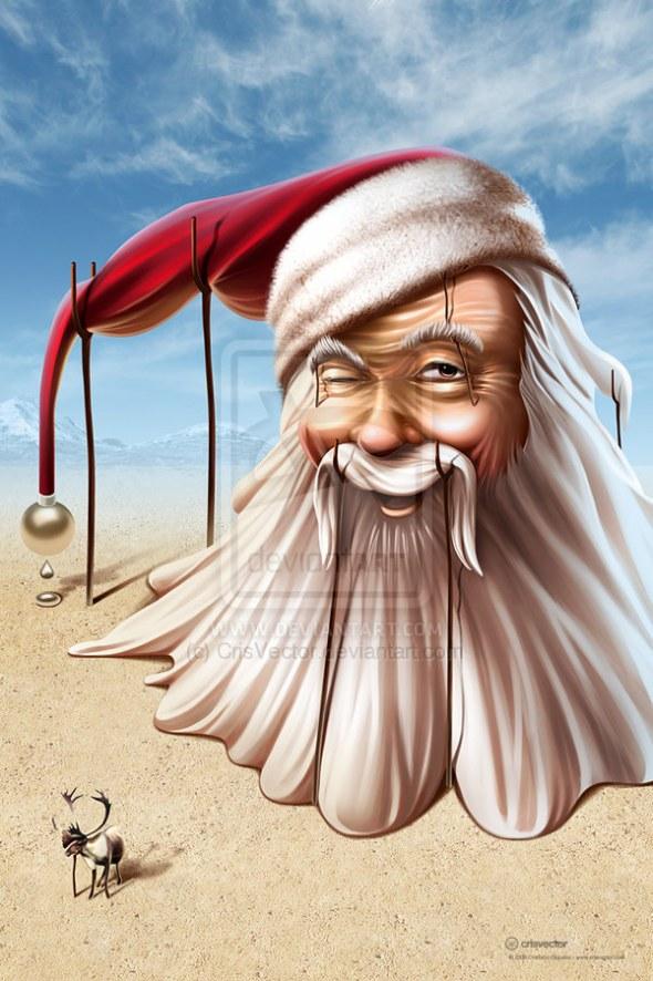 6 Spectacular Santa Claus Designs